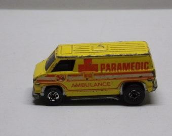 Hot wheels 1974 paramedic ambulance  Metal Car Toy Diecast  toys