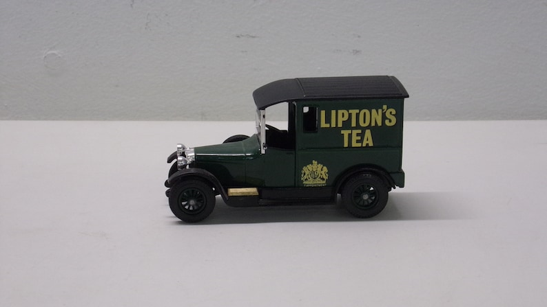 Talbot Liptons Tea 1927 Matchbox Made In England By Lesney Nr 10 Antiquitäten & Kunst Antikspielzeug