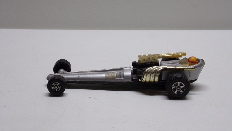 Lintoy rail dragster drag car diecast car Metal Car Toy made in hong kong  1960s (rare)
