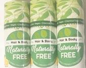 6 Lemon Lip Balms - Allergy Friendly - Wholesale