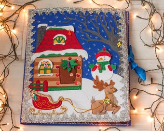 Advent Calendar-Christmas Advent-Christmas tree-Christmas gift kids-Christmas decorations-Christmas ornaments-Quiet Book-Advent ornaments