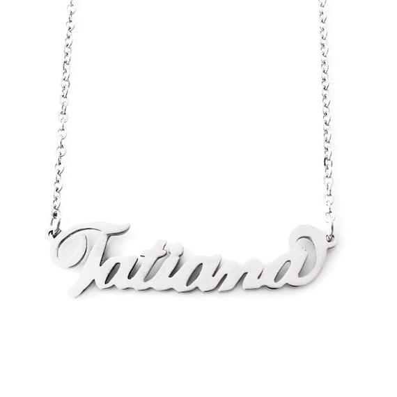 collier prenom tatiana