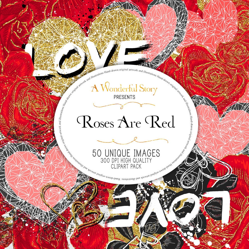 Valentine\'s Day Roses Hearts Anniversary Wedding Invitation Digital ...