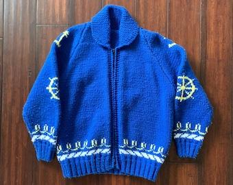 Pullover mit schalkrag | Etsy