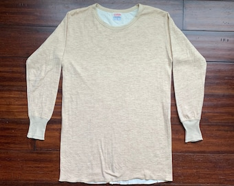 174fdf92 1960's Vintage Duofold Long Sleeve Thermal shirt XL