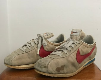 buy popular 628ad 39a94 Vintage 1970s Nike Cortez Script Label Made in the USA mens 7 12