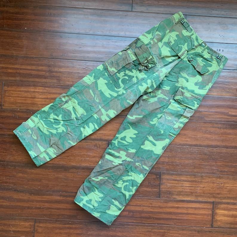 1970/'s OG 107 Jungle Camo Trousers Medium Regular ERDL