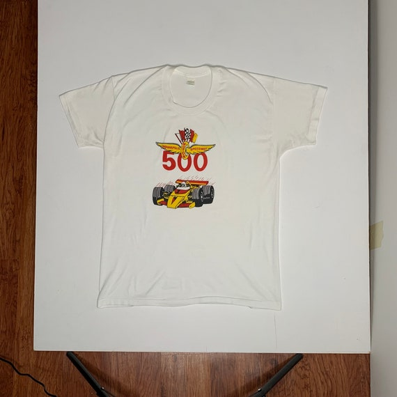 1970's Vintage Indianapolis 500 Promotional T Shir