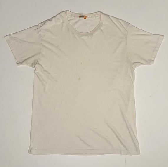 1970's Vintage Munsingwear 50 50 Cotton Poly Blank