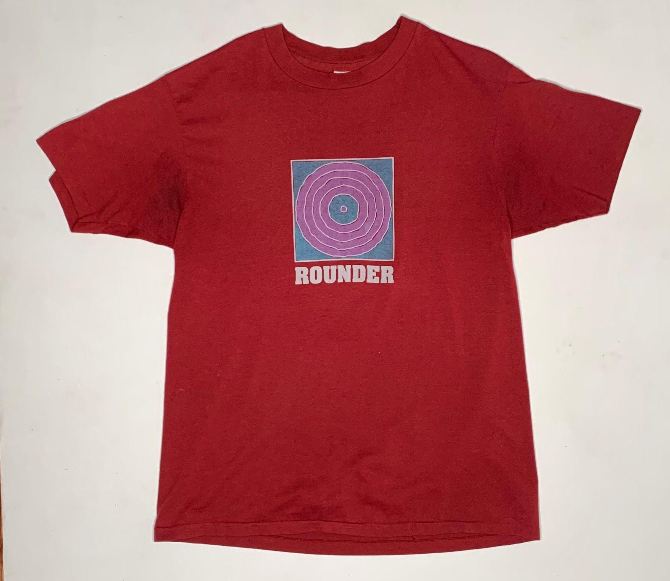 80s Tops, Shirts, T-shirts, Blouse   90s T-shirts 1980s Vintage Rounder Records Label Promo Shirt Xl $120.00 AT vintagedancer.com