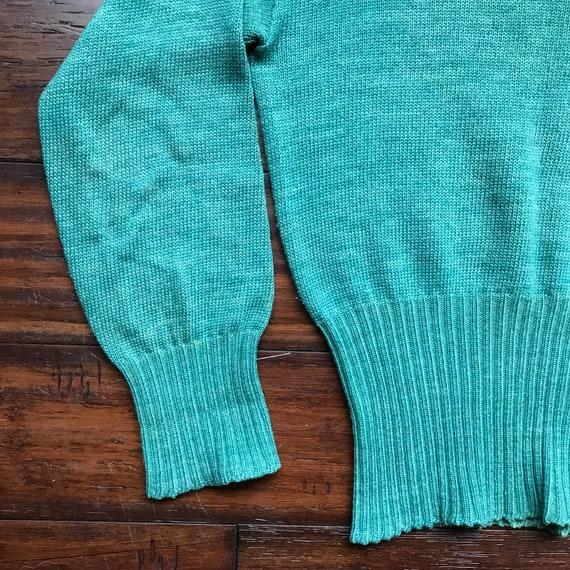 1940 ' s Vintage tricot côtes tricot Vintage pull par l'érable à tricoter Sportswear 92a77f