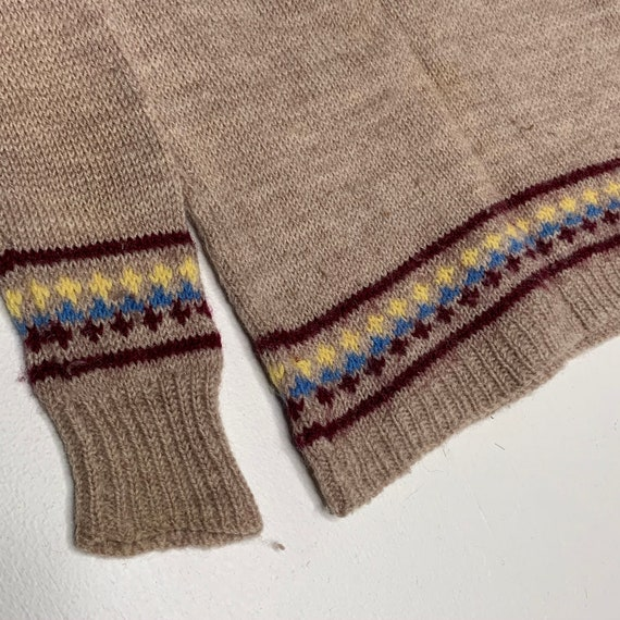1920's Vintage Hand Knit Childrens Socks and Swea… - image 7