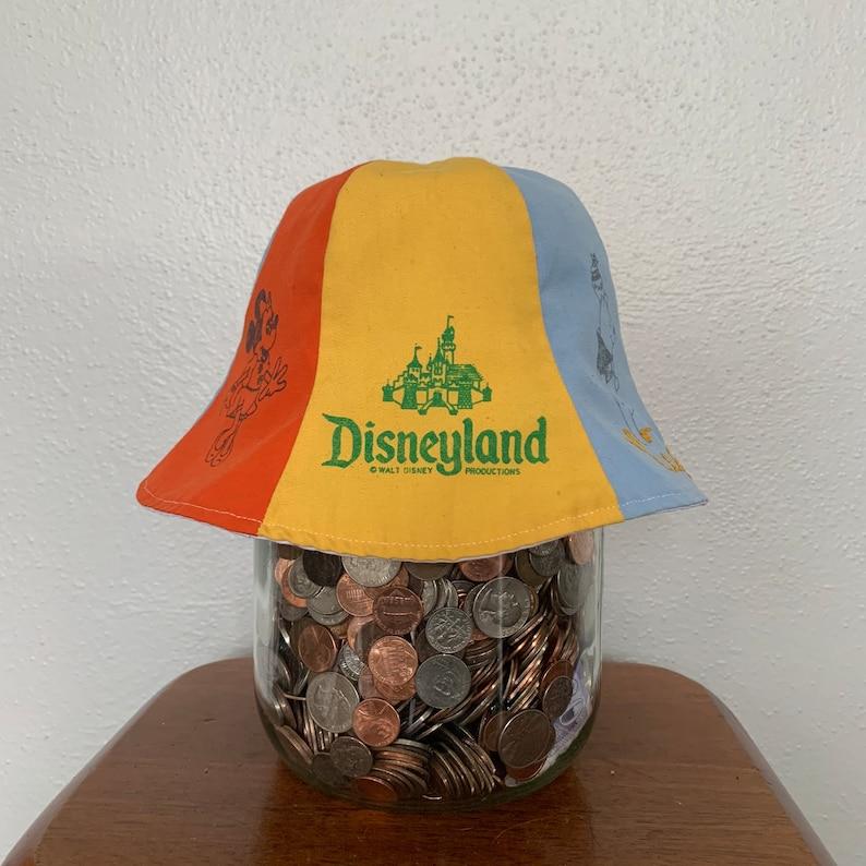 f5954ea6ba6d4 1960 s Disneyland 6 panel bucket cap multi color One size