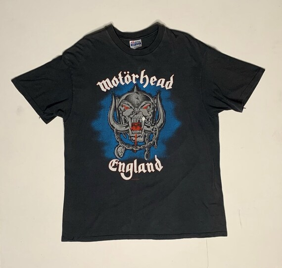 1980's Vintage Motorhead Born To Lose Shirt XL Bla