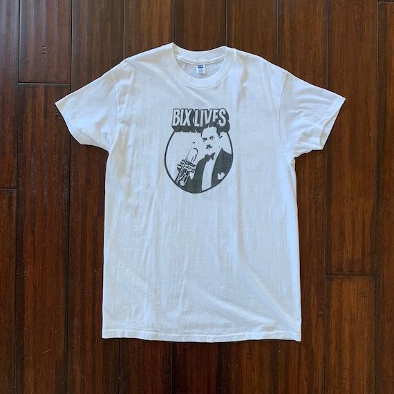 1970's Vintage Bix Beiderbeck Bix Lives t shirt XL