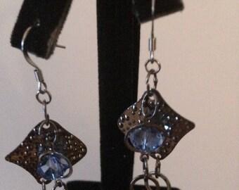 Dangling Chain Earrings