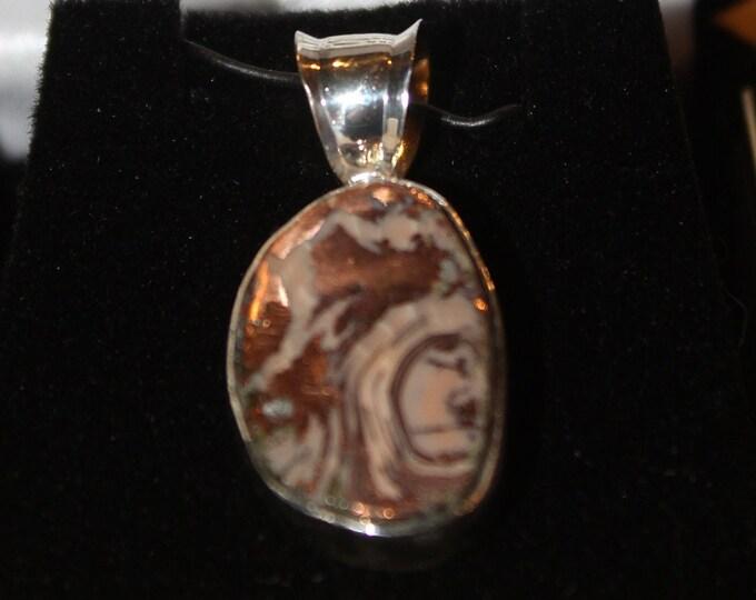 Copper Replacement Agate Pendant: CRAN-1