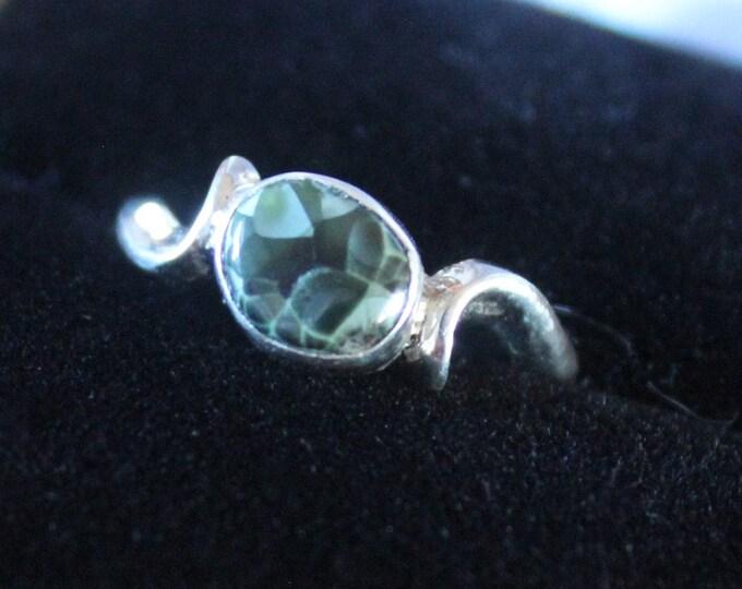Chlorastrolite (Greenstone) Ring GR-119 Size 4.75