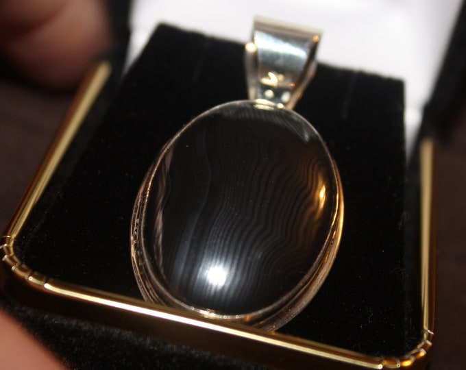 Banded Hematite Pendant- Very Rare HN-1