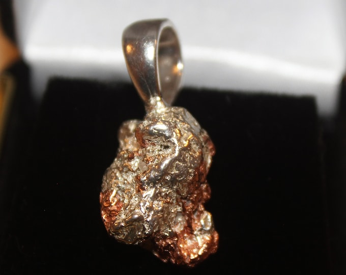 Half-breed (Silver/Copper) Pendant HBN-3