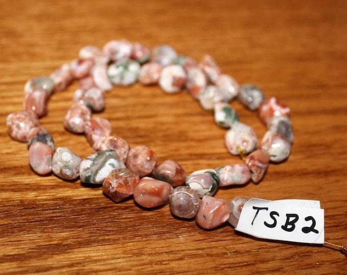 Thomsonite stones from Michigan TSB-2