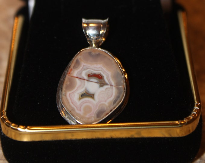 Keweenaw Agate ,from High Rock Pendant; HRAN-5