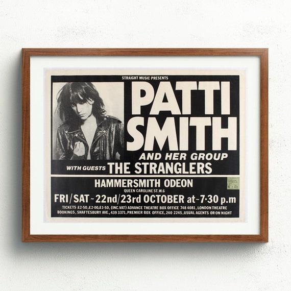 Patti Smith Custom New Art Poster Print Wall Decor
