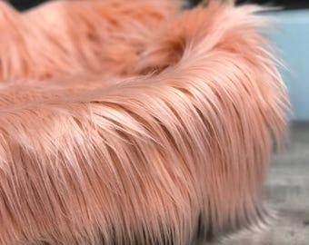 **ON SALE! Stuffer Layering blanket Black Soft Luxury Shag Faux Fur 2\u201d Pile Newborn Cuddly Faux Fur Nest Newborn Baby Posing Photo Prop