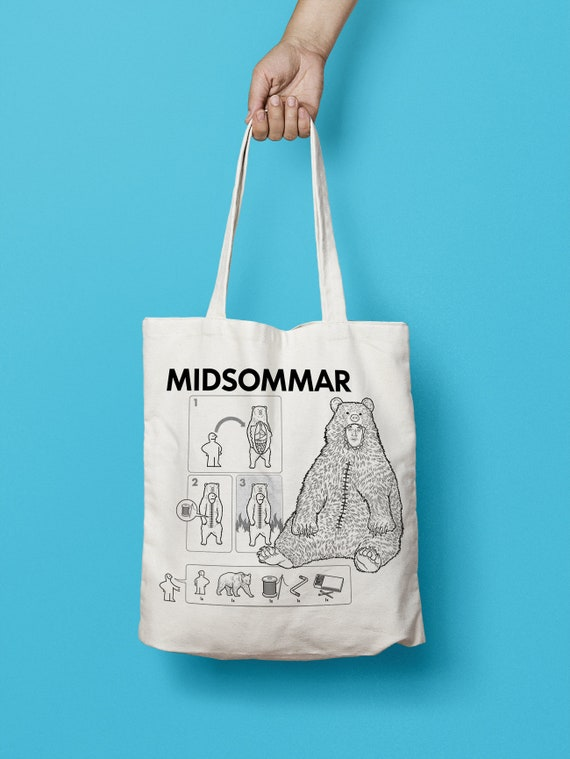 Midsommar Tote Bag - Horror Fan, Horror Collector, Horror Movie - Free UK Shipping!