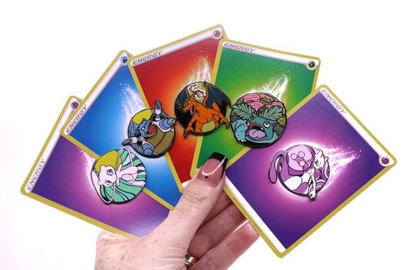 Pokemon Hard Enamel Pin Badges - Mew / MewTwo / Blastoise / Charizard / Venusaur - gift for him / her anime TCG collectors item