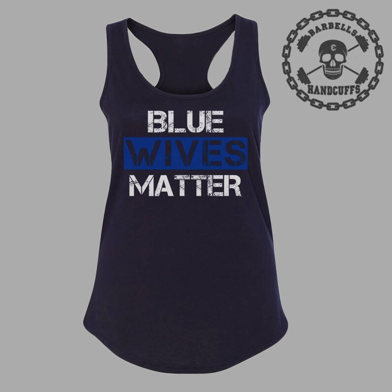 77608383e3309 Tank Tops for Women Police Wife Shirt Police Officer Gifts