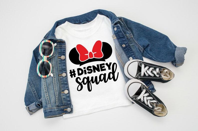 5afea14f Disney Squad Shirt Disney Family Shirts Disney Group Shirts | Etsy