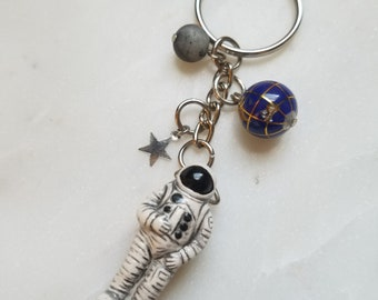 Outer space Keychains