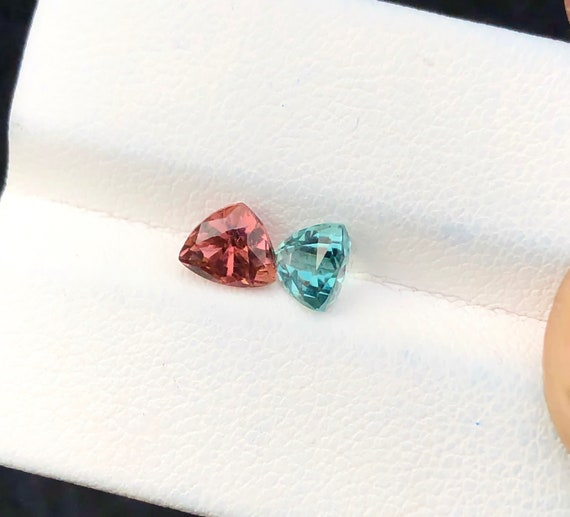 2.05 Carats Natural Superb! Blueish Internally Flawless Tourmaline Gemstone from Afghanistan