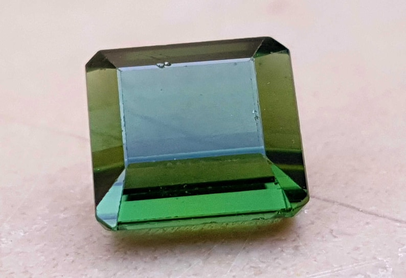 Yellowish Green Transparent Tourmaline Ring Size Gemstone from Afghanistan 3.45 Carats Natural Superb!