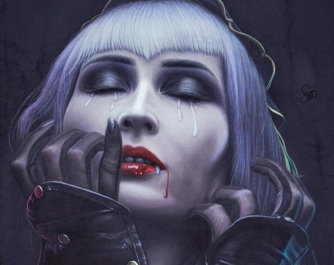 "Allure of the Vain ""Jessamy"" original painting"