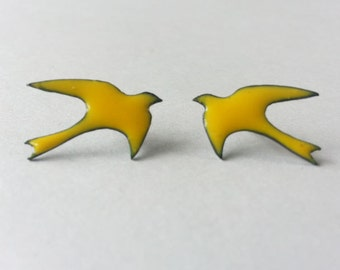 Canary Yellow Swallows