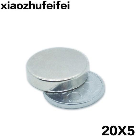 100pcs Super Strong Disc Rare-Earth Neodymium Magnets Magnet 20mm x 3mm N50