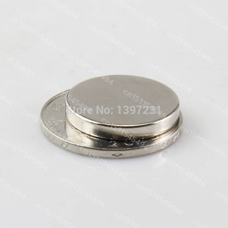 new  10pcs 20x3mm n52 rare earth permanent strong