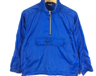 2b0c0cebcc Vintage Nike Jacket Nike Windbreaker Jacket Small Logo Full zipper Block  Colour Vintage 90s