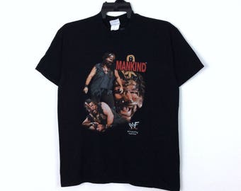 Mankind Mick Foley Wrestling T Shirt Mens Tee Fan Gift New From US