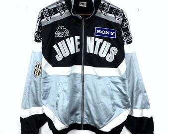 c000a6342 Vintage Kappa Jacket Kappa Juventus Sony Block Color   Kappa Sweatshirt    Kappa Hoodie Retro Fashion Rap Tees Hip Hop Made in Japan
