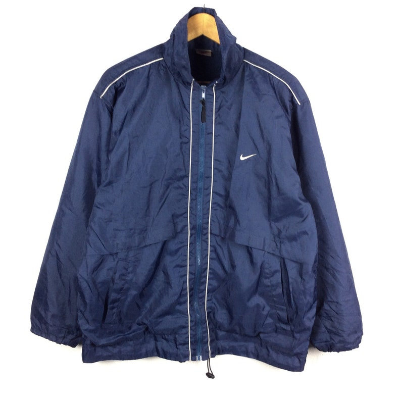 1d11fef336 Vintage Nike Jacket Nike Windbreaker Jacket Small Logo Full