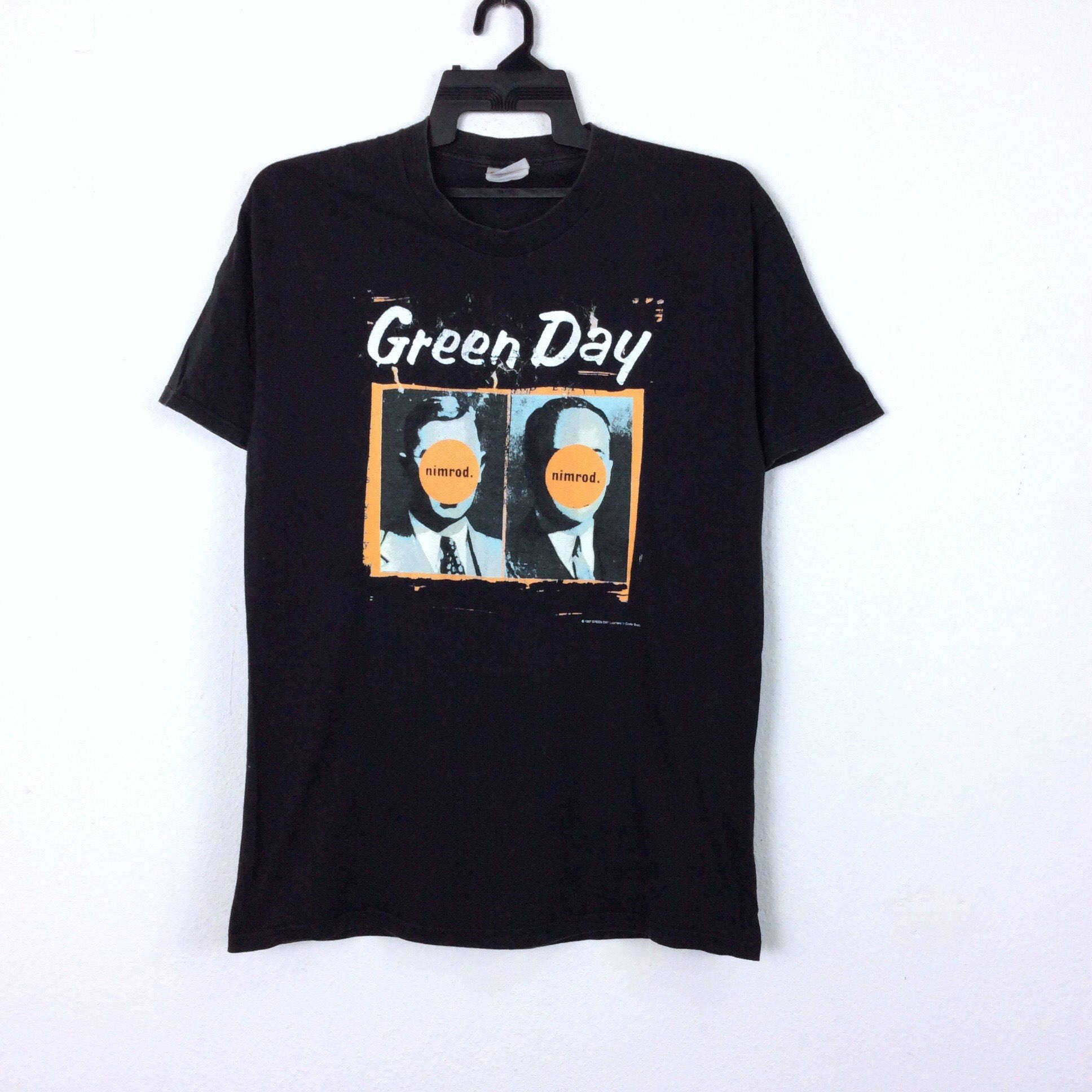 Greenday Nimrod World tour shirt XL with AAA stage pass RSyYph60 ... 88f9075ce57