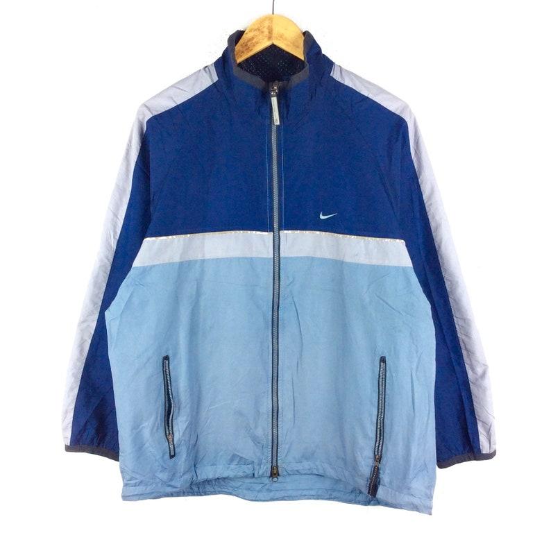 Vintage 90s Nike Jacket Nike Windbreaker Jacket Nike, Black, Red and White Cream Color (Retro) Big Logo Spellout Rap Tees Hip Hop Swag