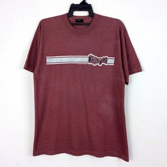 Vintage 90s 1996 Korn Band Shirt Alternative Rock