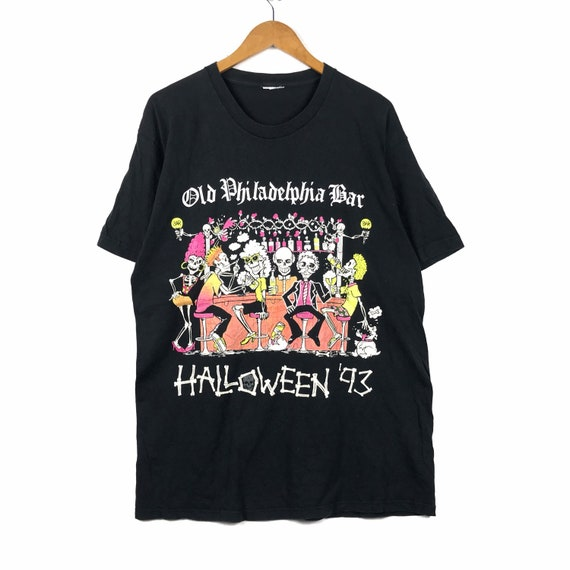 Vintage Halloween 1993 T-Shirt size  X-LARGE Old P