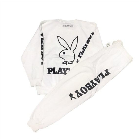Vintage Playboy Sweatshirt Tracktop Medium Size/ P
