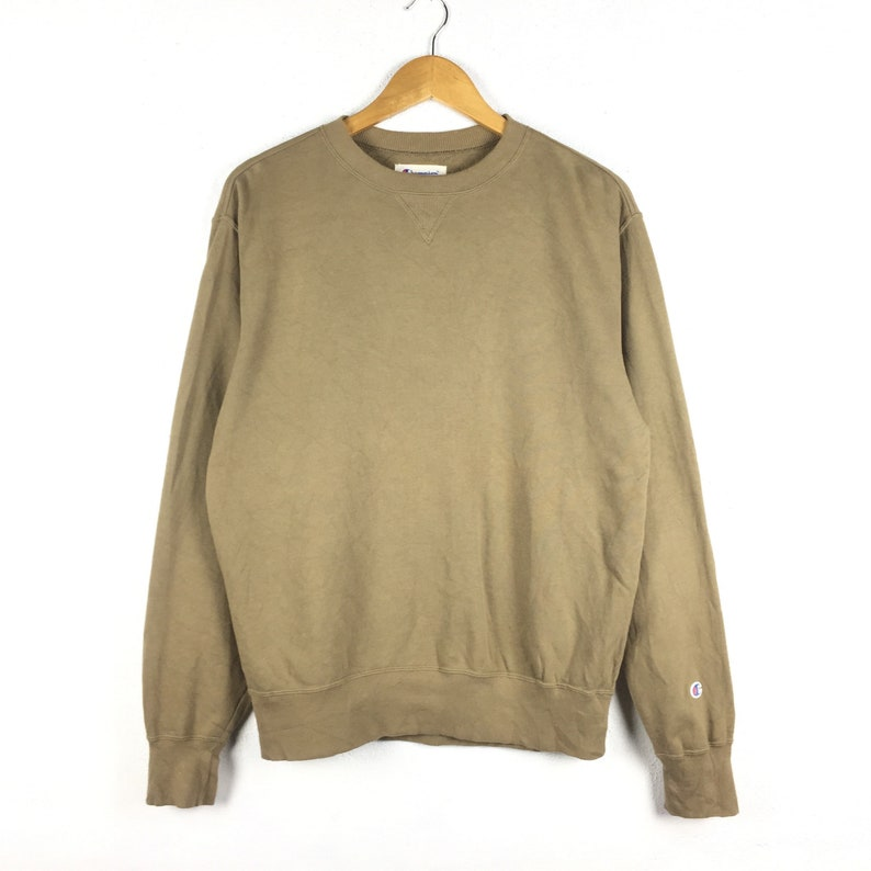 fa046fe482001 Vintage Champion Sweatshirt Large Size Small Logo / Champion Reverse Weave  Pullover Crewneck Shirt Rap Tees Hip Hop Swag
