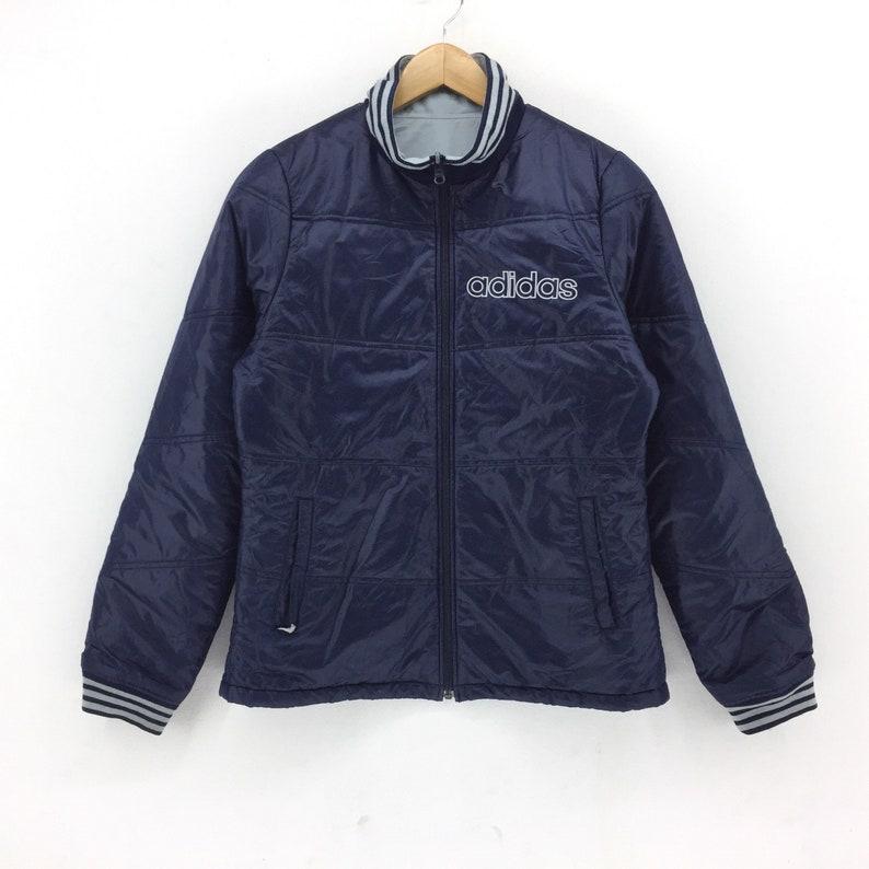 051e7a2eeb05a Vintage Adidas Jacket / Adidas Two Ways Riversible Puffer Jacket / Jacket /  Winter Jacket / Hoodie / Vintage 90s Rap Tees Hip Hop Swag